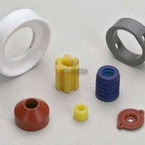Peças em borracha de silicone